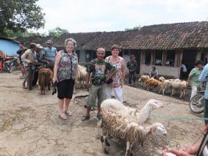 visite village ile de java indonésie