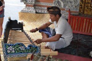 musique locale bali indonésie