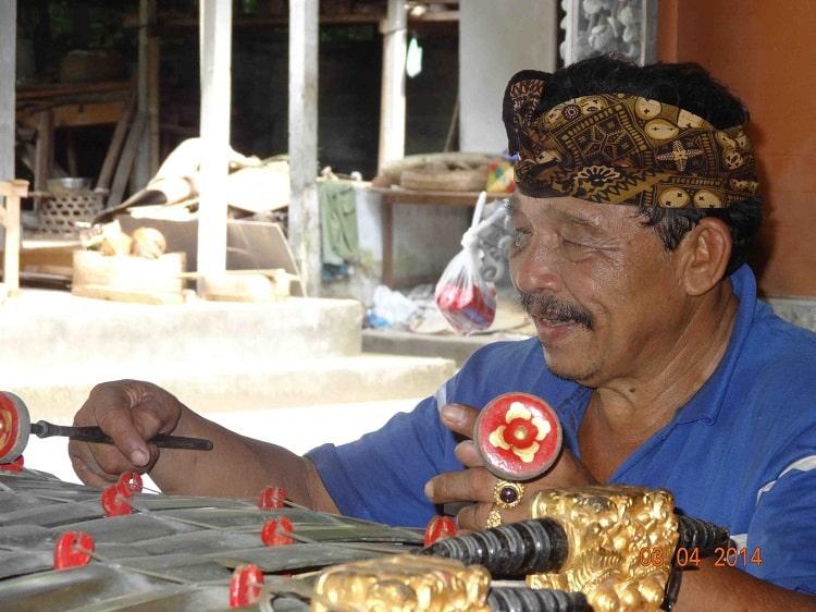musique locale ancestrale bali