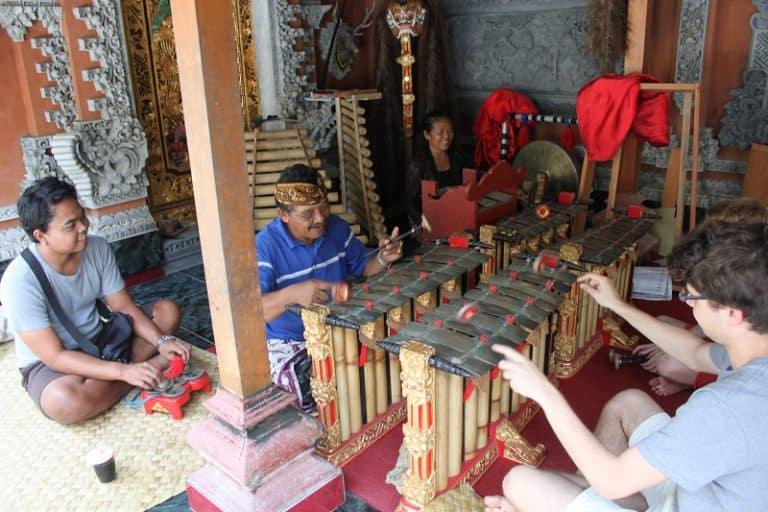 musique traditionnelle balinaise