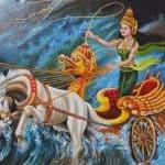 Nyai Roro Kidul déesse indonésienne