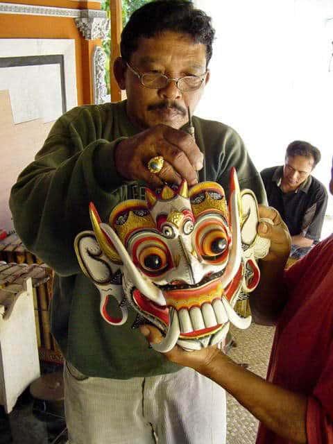 pak nengah karsa creation masque artiste