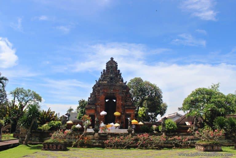 palais klungkung bali découverte kori Agung