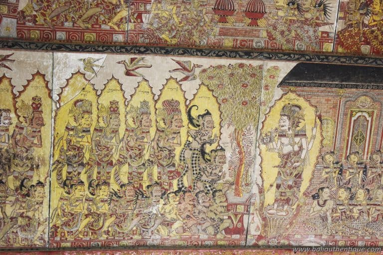 palais klungkung peintures ancienne mystiqu