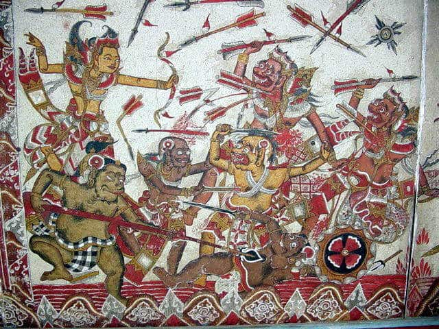 palais klungkung peintures anciennes