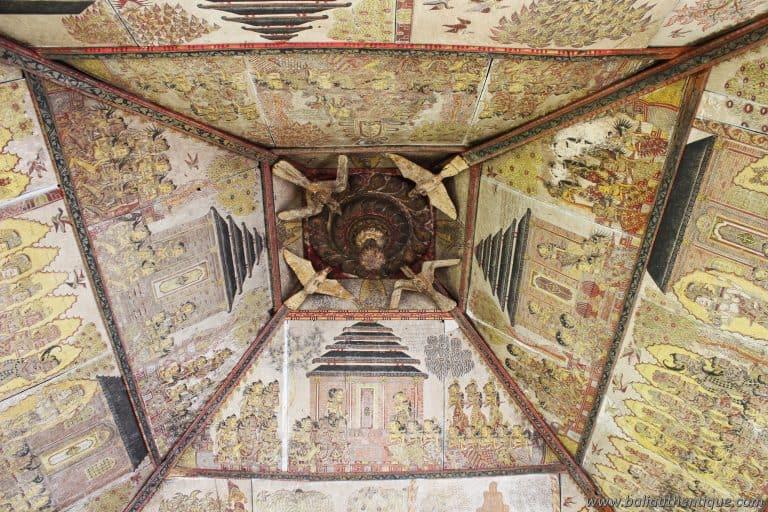 palais klungkung visité peinture mystique