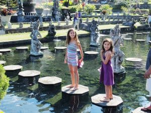 tirtagangga palais royal sur l'eau bali
