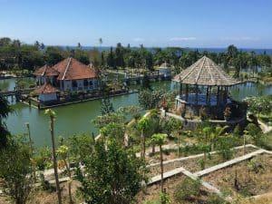 palais ujung bali indonésie