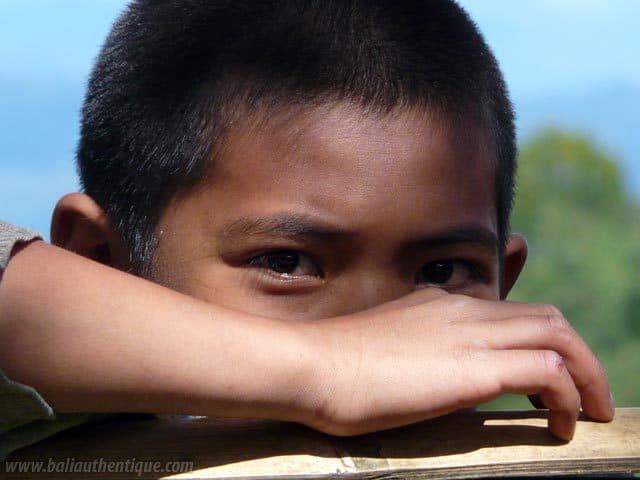 pays toraja sulawesi portrait enfant