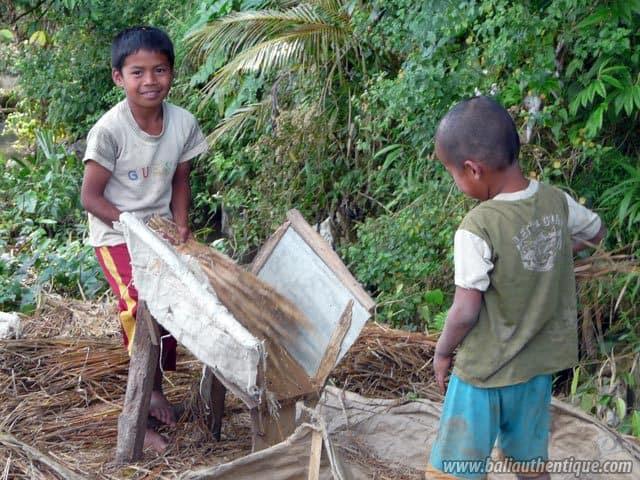 pays toraja sulawesi travail enfants
