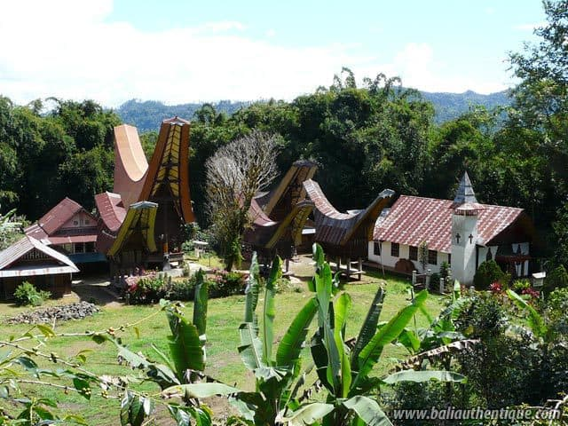 pays toraja sulawesi village traditionnel