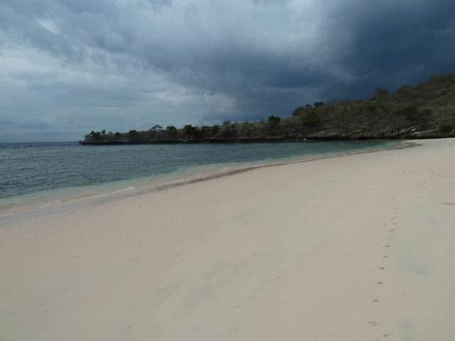 paysage ekas lombok peninsule.