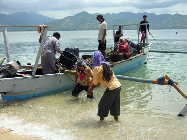 peche gili air ile lombok indonesie paysage authentique
