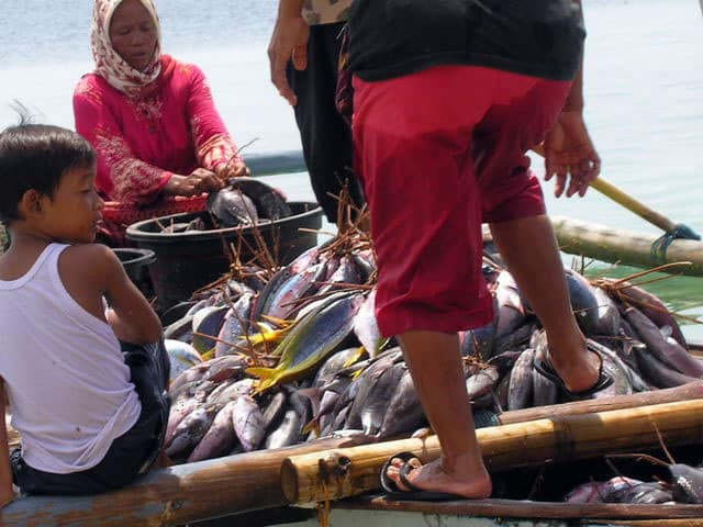 peche gili air ile lombok indonesie travail bateau