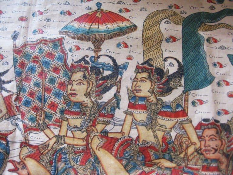 peinture traditionnelle balinaise