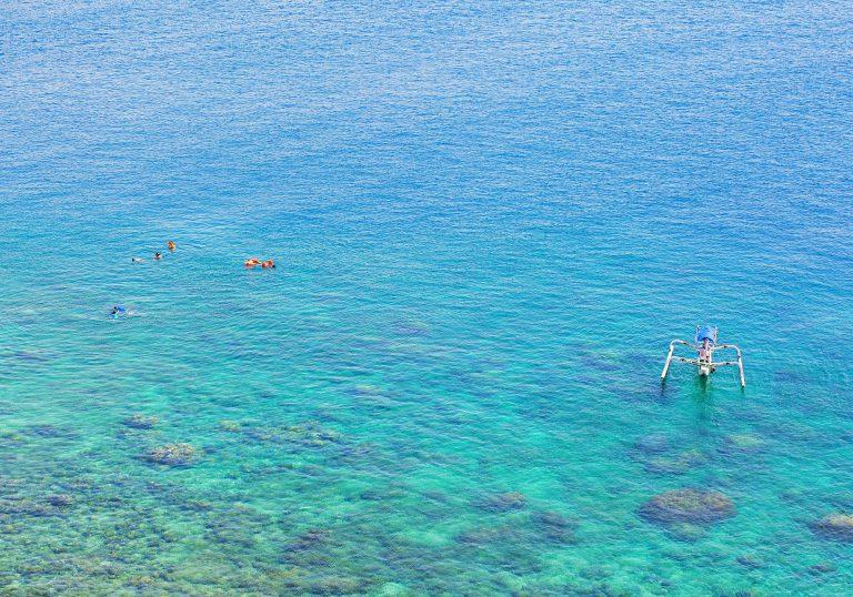 pemuteran bali snorkling panorama