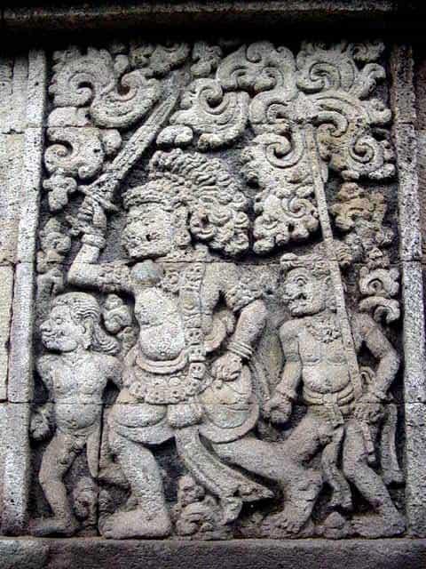 penataran temple java est vacances indonesie
