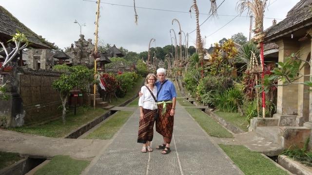 Penglipuran village traditional Bali Authentique client Chevailer