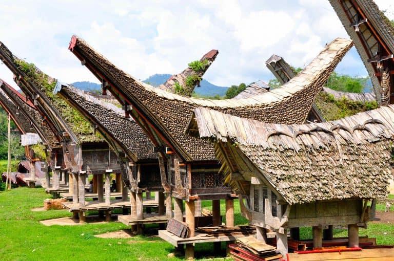 bugis maisons typiques sulawesi