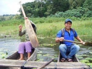 Tamblingan lac pirogue aventure bali