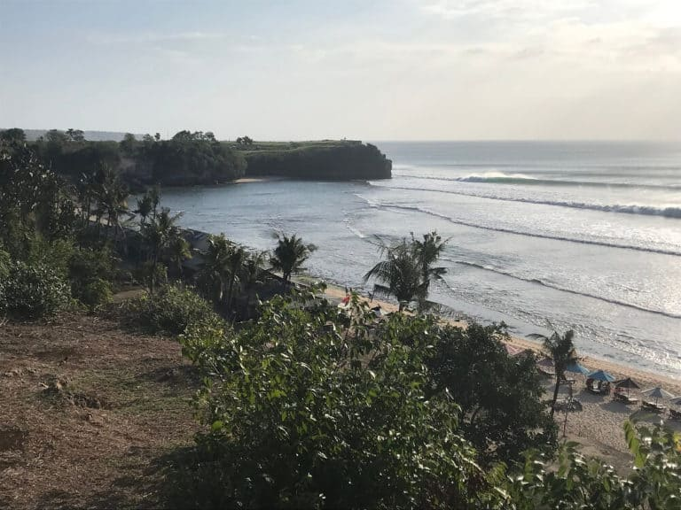 plage balangan bali indonesie