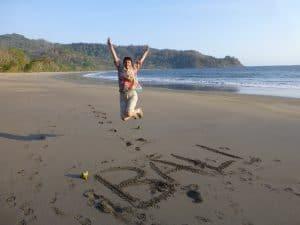 bali plage déserte indonésie