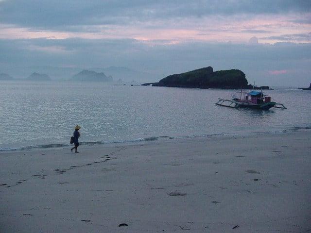 plage de papuma java est paysage