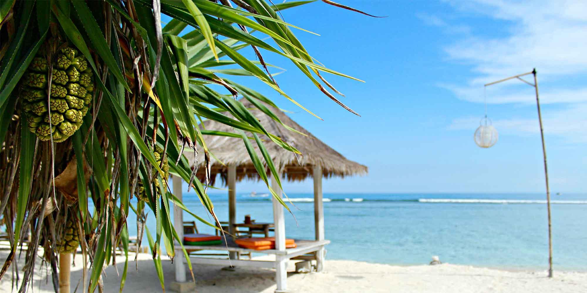 paysage paradisiaque bali iles gili indonésie