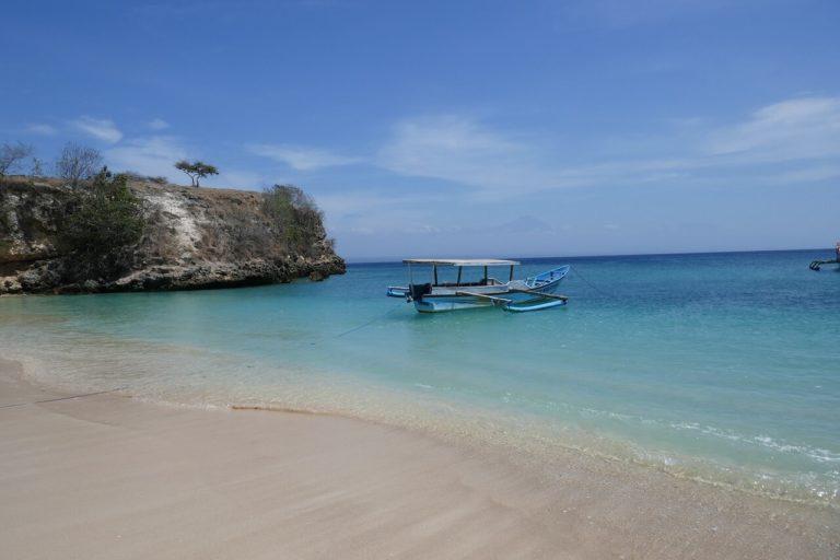 plage gili lombok indonesie
