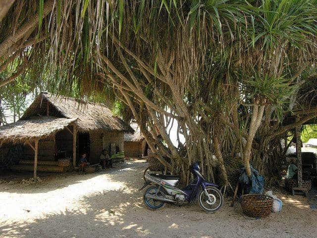plage nusa lembongan indonesie ile proche bali