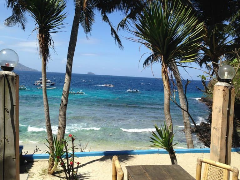 plage eau bleue turquoise bali