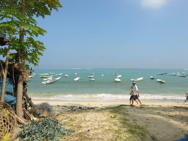 plage paradisiaque nusa lembongan ile proche bali
