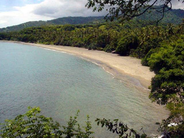plage senggigi lombok indonésie