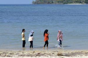 Senggigi plage circuit indonésie