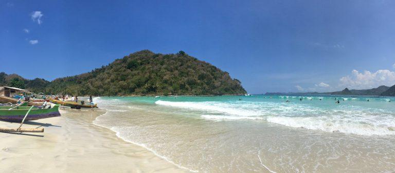 lombok plage kuta indonésie