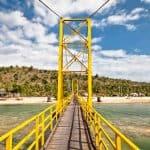 Pont Lembongan Cenidan Bali Indonesie