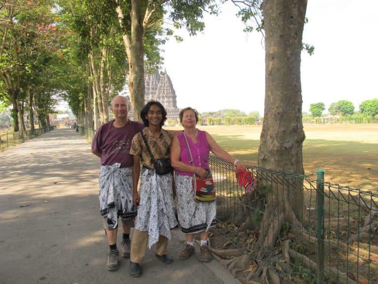 Prambanan ile de java monument grandiose