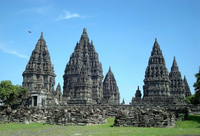 Prambanan temples Java