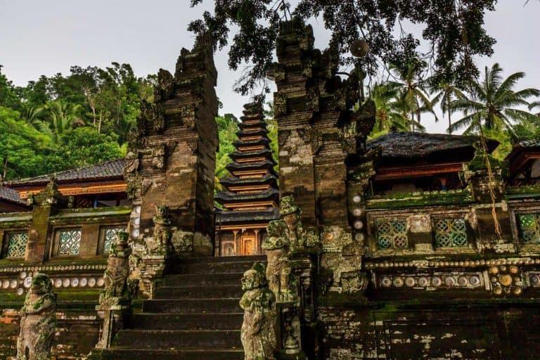 Pura Kehen Temple Bali Bangli Porte
