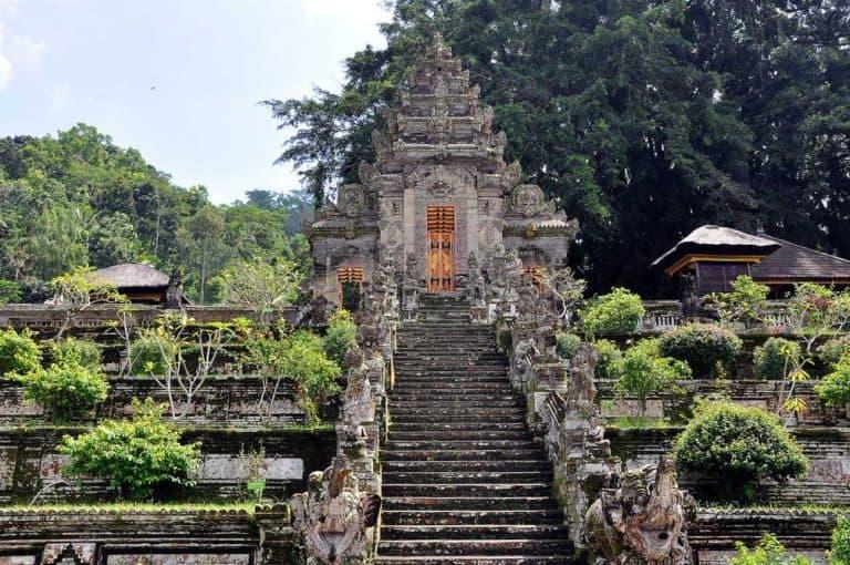 Pura Kehen Temple Bali Bangli Escaliers
