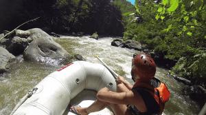 rafting bali activité rivière