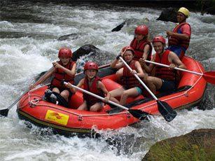 Rafting Bali Ubud Sidemen sport famille Bali Authentique