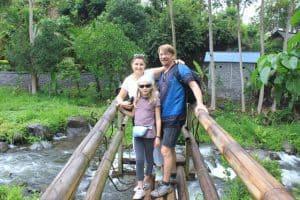 trekking en famille découverte nature
