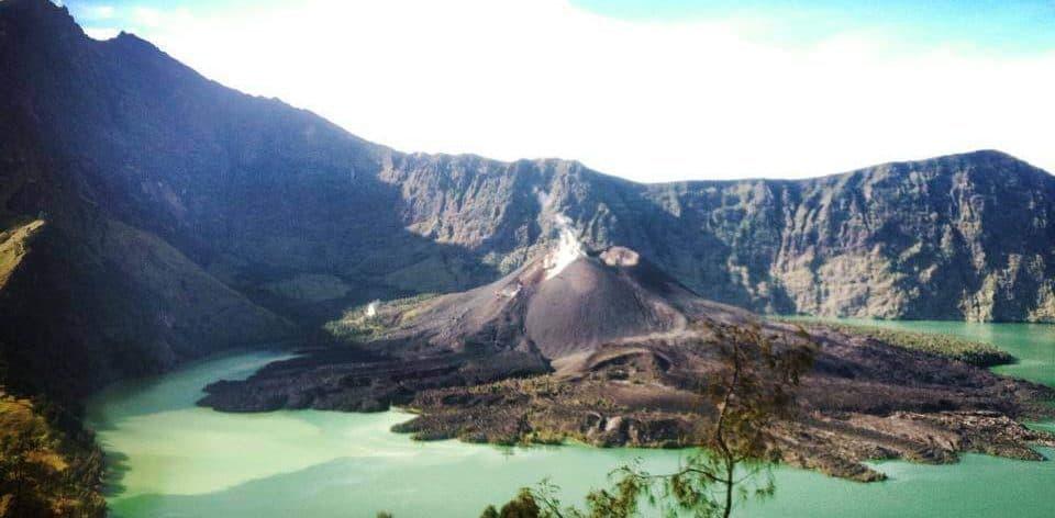 rinjani eruption volcano lombok