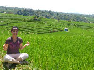 tourisme dans les rizières balinaises