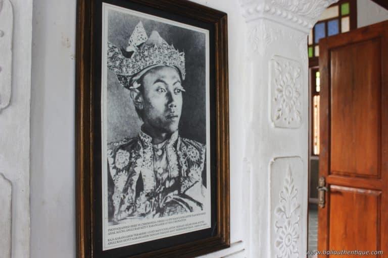Roi du palais karangasem bali