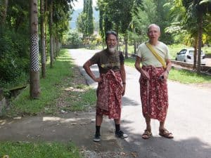 sarong tenue locale indonésie