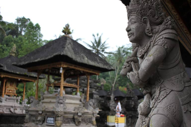 sculpture temple tirtha empul Bal