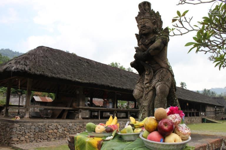 Sculpture tenganan Bali aga