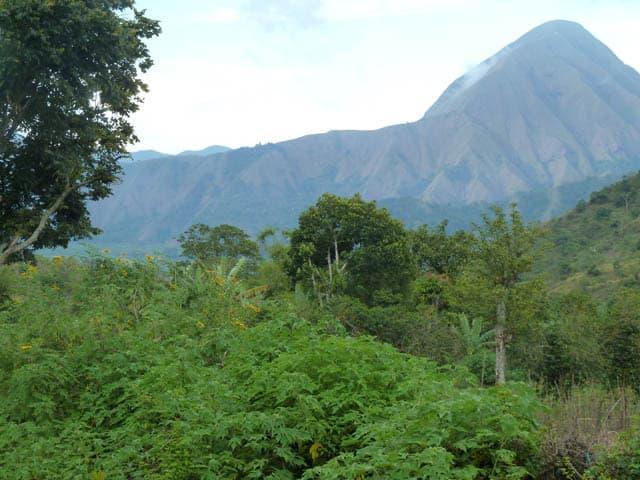 sembalung lombok indonesie trek montagne